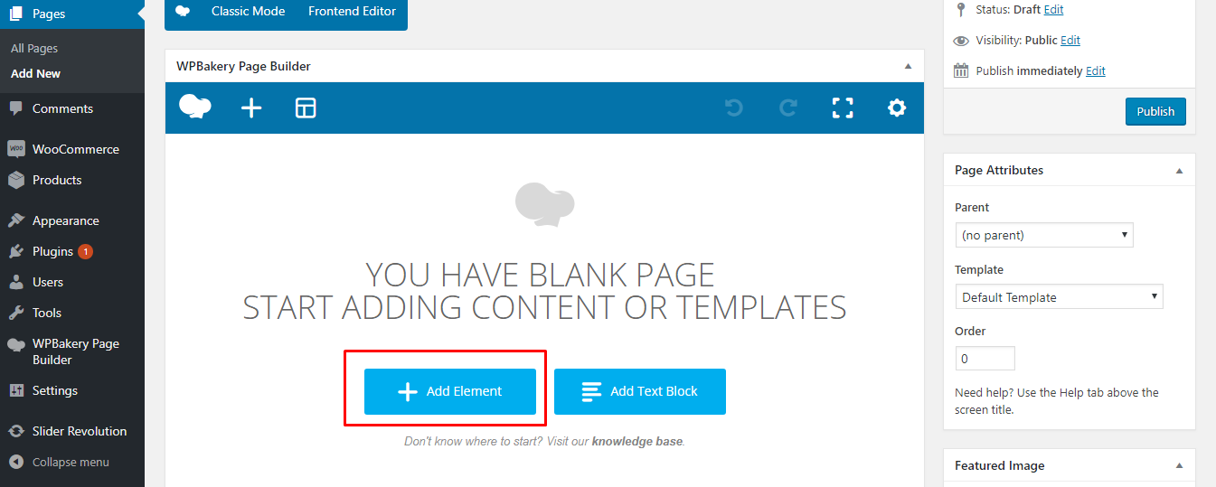 How To Load Pre-built WPBakery Page Builder Elements – Documentation
