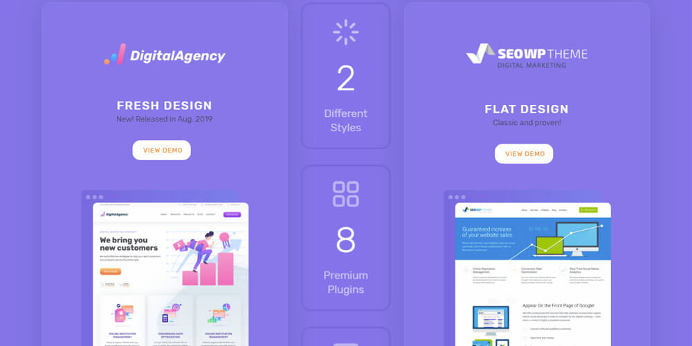 SEO WP – Marketing Theme