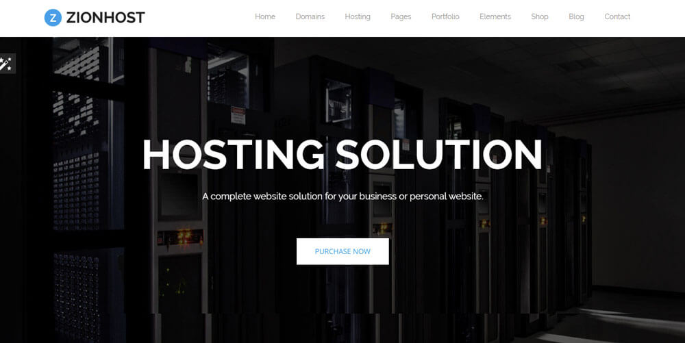 ZionHost – Web Hosting Theme