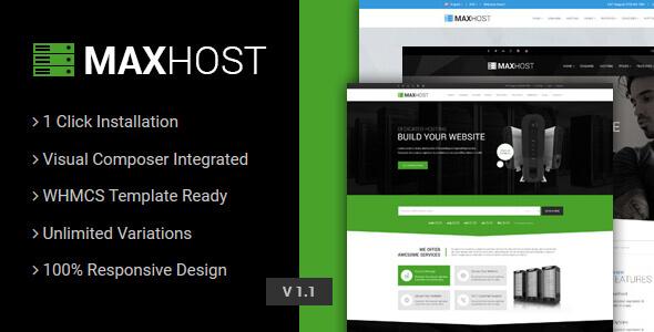 MaxHost – Web Hosting Theme
