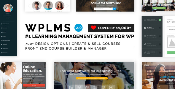 WPLMS – Learning Theme