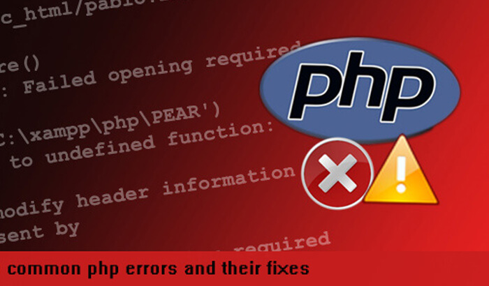 Reference Error – Undefined Variable Error and Call to Undefined Function Error in PHP