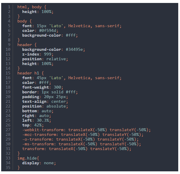 css-code-snippet