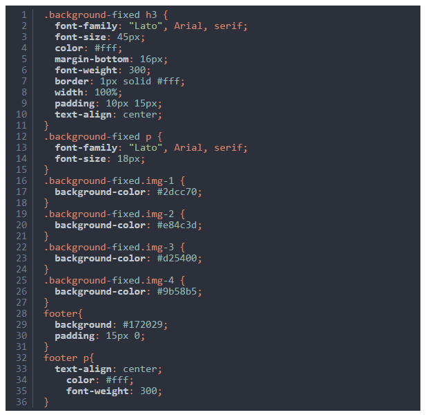 background-css-code-snippet