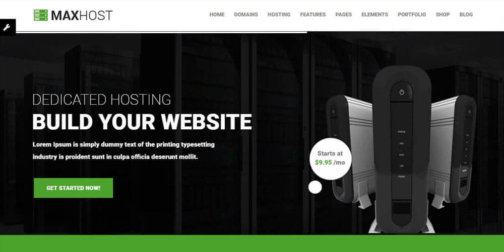 20 Best Hosting WordPress Themes with WHMCS Integration 2018