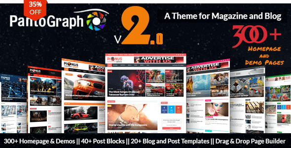 20+ Best Blog WordPress Themes for Corporate, Personal, Travel, And More – 2019