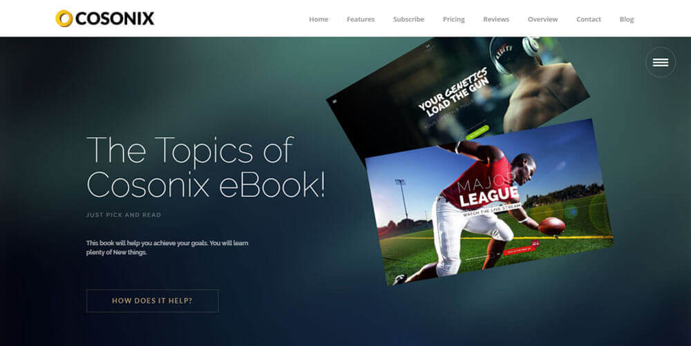 Cosonix – One Page Theme