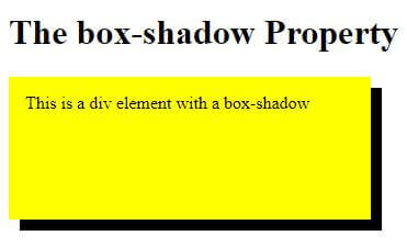 How to create Box Shadow with CSS-With Syntax