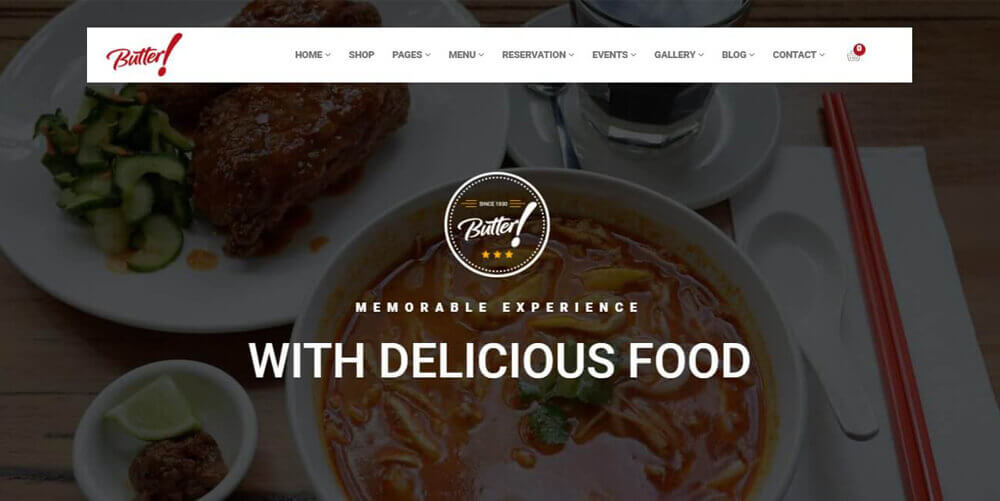 Butter – Restaurant Theme