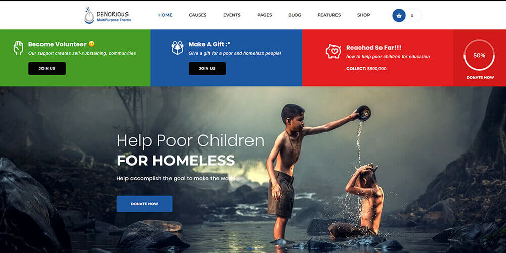 20 Best WordPress Themes For Non-Profit, Charity and Fundraising Organizations 2019